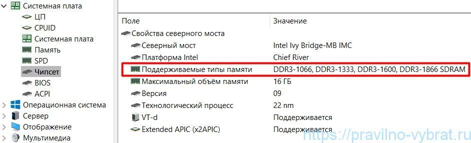 Поддерживаемые типы памяти ноутбуком: DDR3-1066/1333/1600/1866