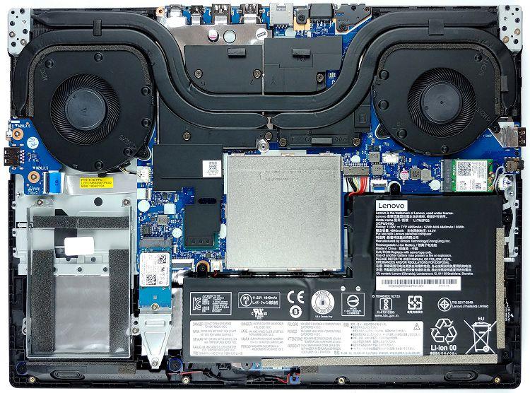 Система охлаждения Lenovo Legion Y540